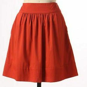 Anthropologie Odille thousand Days circle skirt